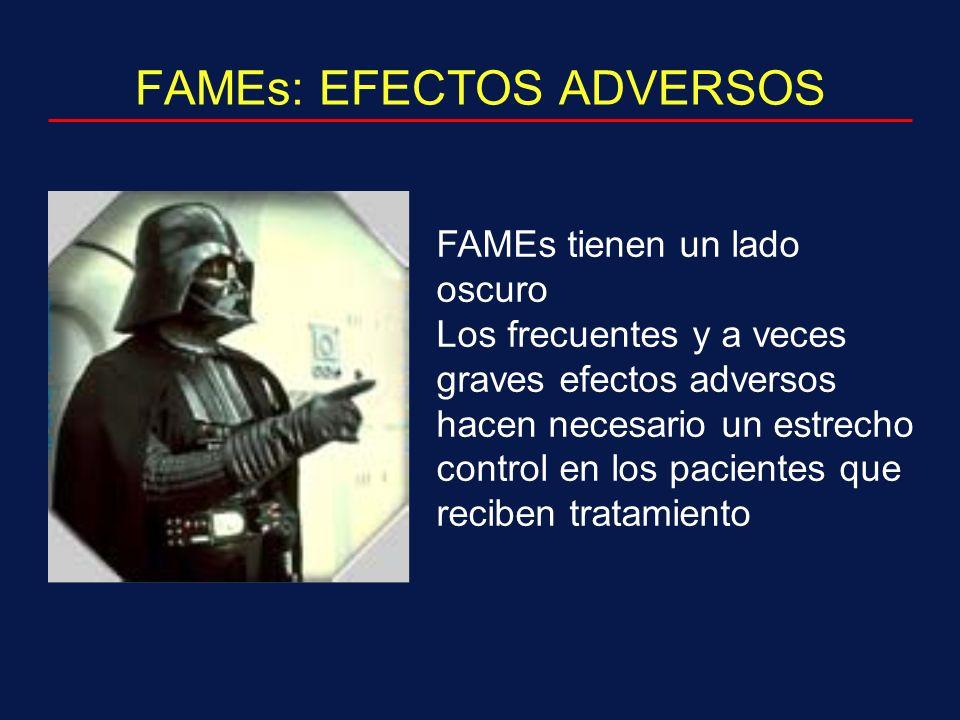 FAMEs: EFECTOS ADVERSOS