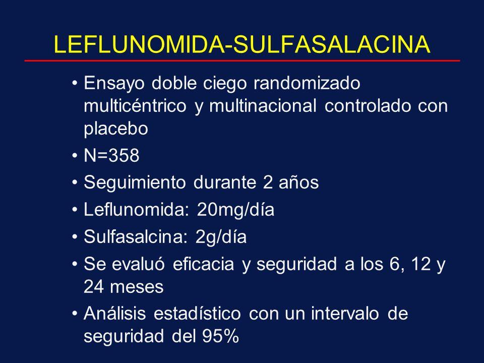 LEFLUNOMIDA-SULFASALACINA
