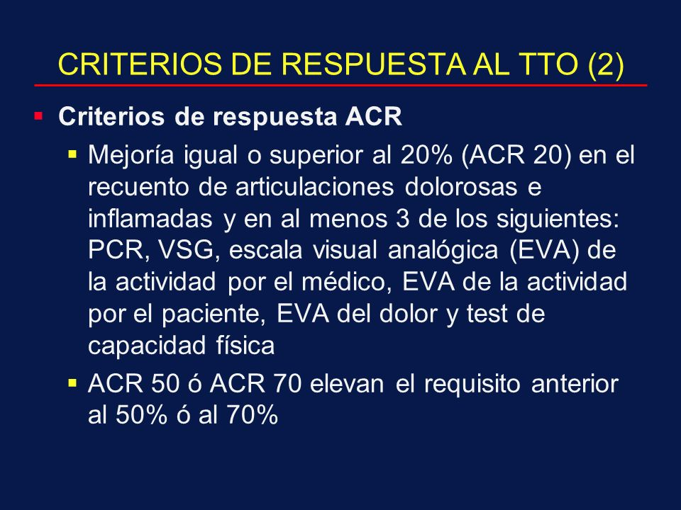 CRITERIOS DE RESPUESTA AL TTO (2)