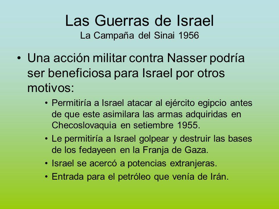 Las Guerras de Israel La Campaña del Sinai 1956