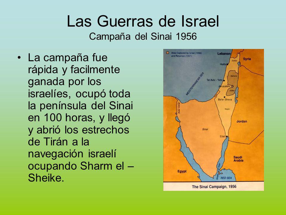 Las Guerras de Israel Campaña del Sinai 1956