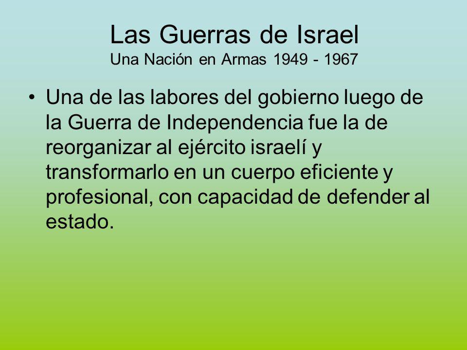 Las Guerras de Israel Una Nación en Armas 1949 - 1967