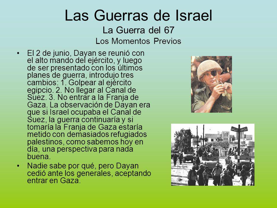 Las Guerras de Israel La Guerra del 67 Los Momentos Previos