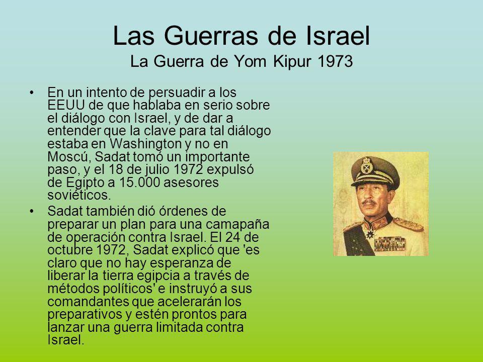 Las Guerras de Israel La Guerra de Yom Kipur 1973