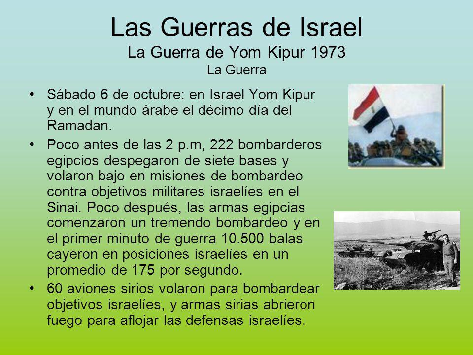 Las Guerras de Israel La Guerra de Yom Kipur 1973 La Guerra