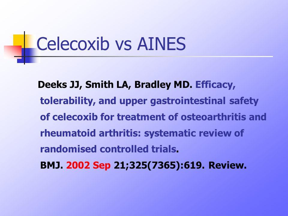 Celecoxib vs AINES