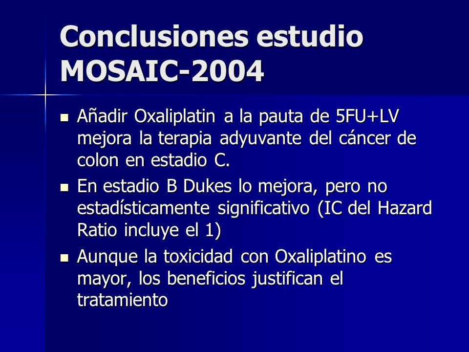 Conclusiones estudio MOSAIC-2004