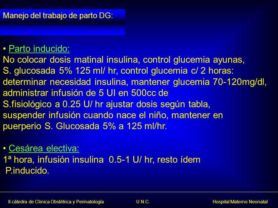 No colocar dosis matinal insulina, control glucemia ayunas,
