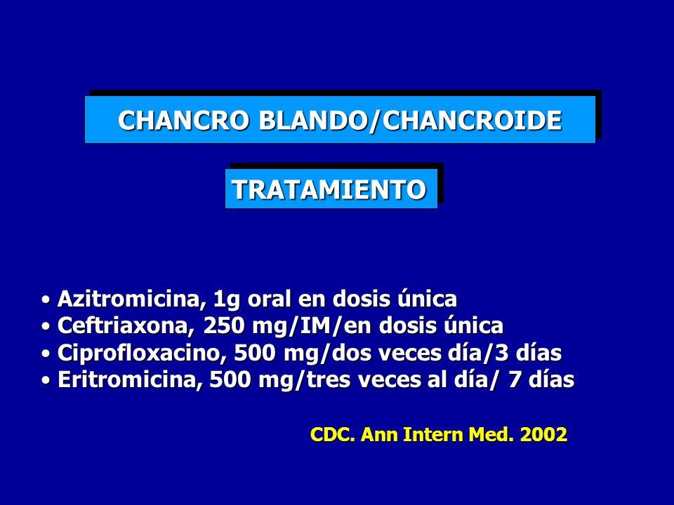 CHANCRO BLANDO/CHANCROIDE
