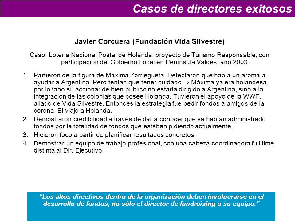 Javier Corcuera (Fundación Vida Silvestre)