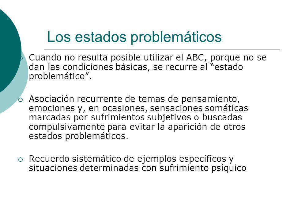 Los estados problemáticos