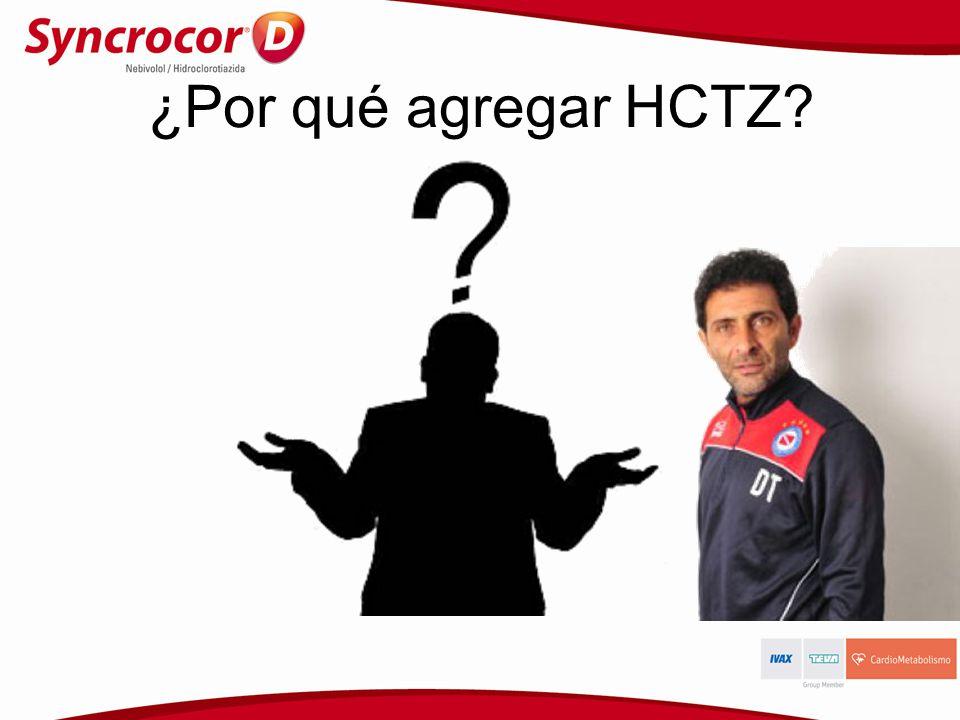 ¿Por qué agregar HCTZ