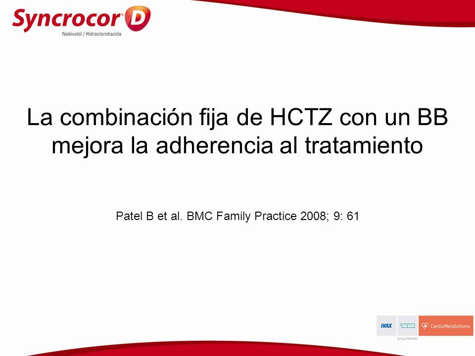 Patel B et al. BMC Family Practice 2008; 9: 61