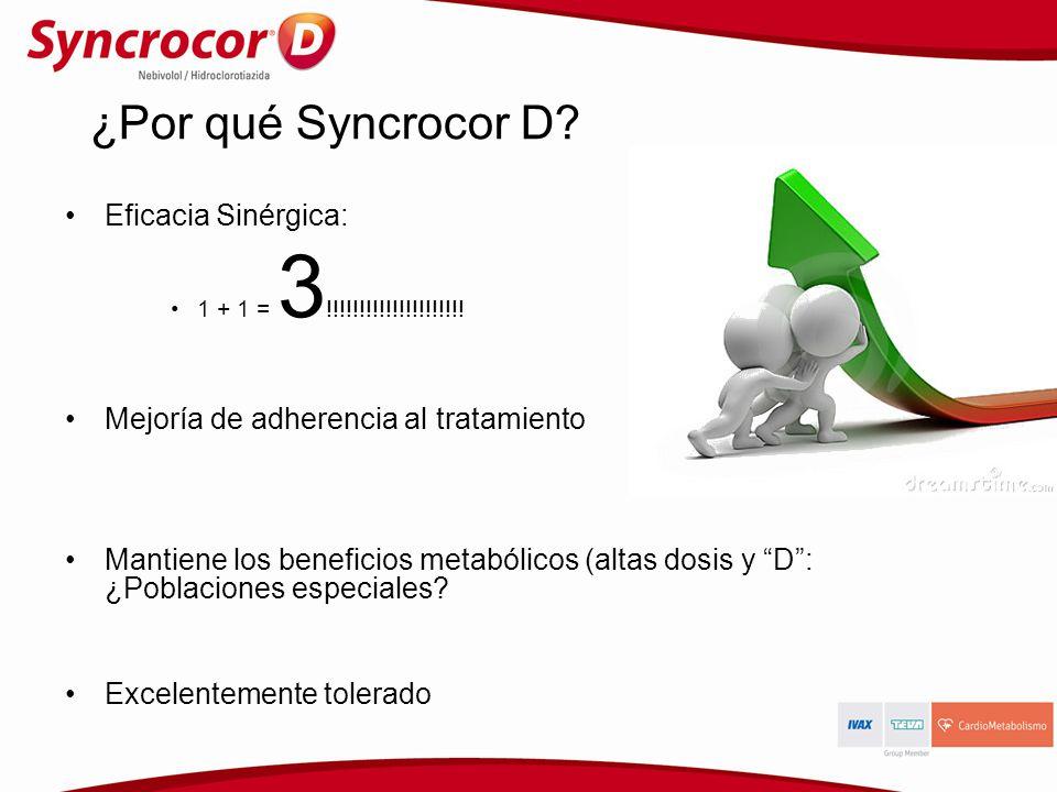 ¿Por qué Syncrocor D Eficacia Sinérgica: