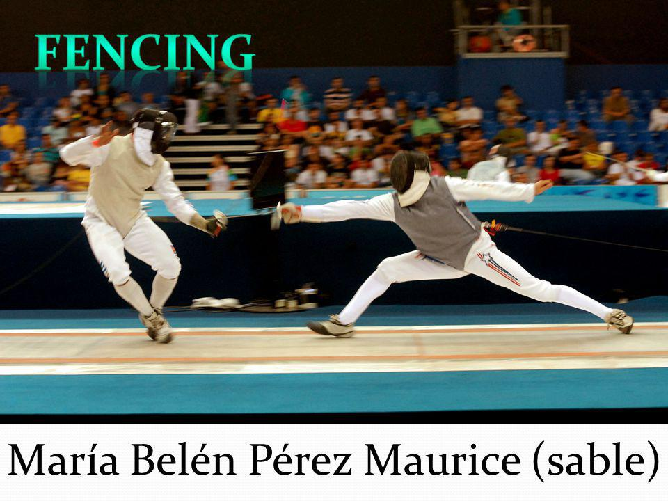 FENCING María Belén Pérez Maurice (sable)