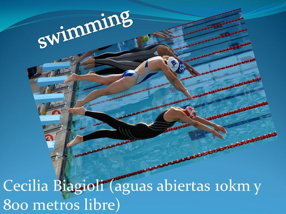 swimming Cecilia Biagioli (aguas abiertas 10km y 800 metros libre)