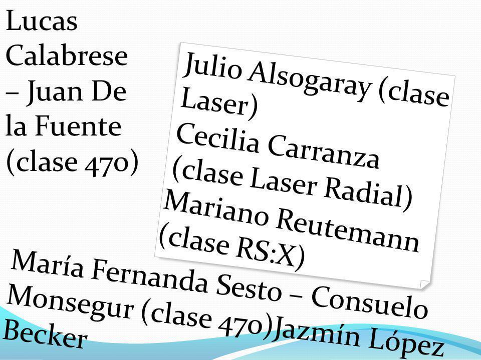 Lucas Calabrese – Juan De la Fuente (clase 470)