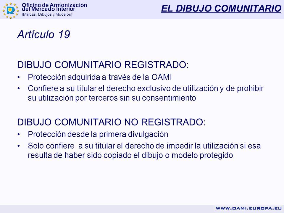 Artículo 19 EL DIBUJO COMUNITARIO DIBUJO COMUNITARIO REGISTRADO: