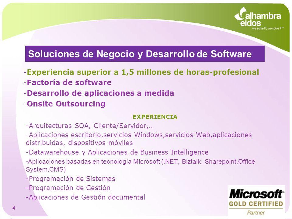 Soluciones de Negocio y Desarrollo de Software