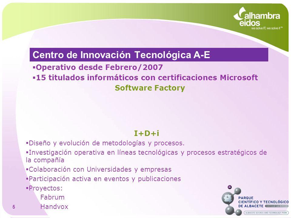 Centro de Innovación Tecnológica A-E