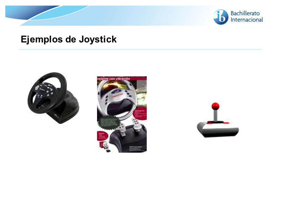Ejemplos de Joystick 14 14