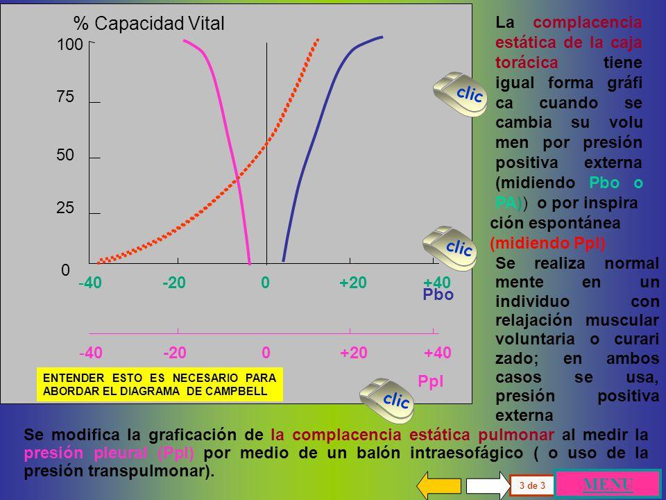 Pbo -40 -20 0 +20 +40. 100. 75. 50. 25. % Capacidad Vital.