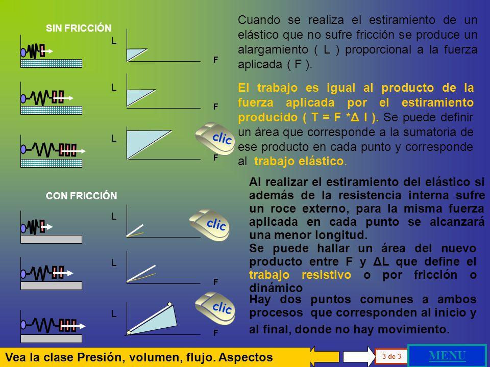 Vea la clase Presión, volumen, flujo. Aspectos Físicos MENU