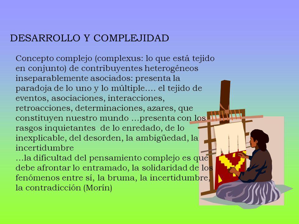 DESARROLLO Y COMPLEJIDAD