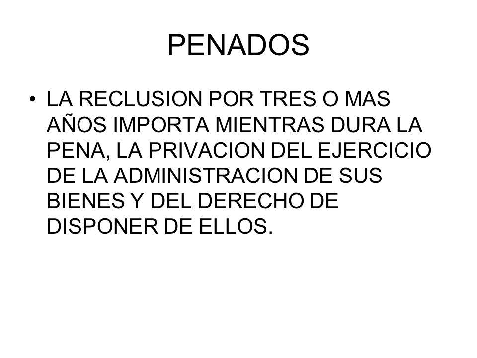 PENADOS
