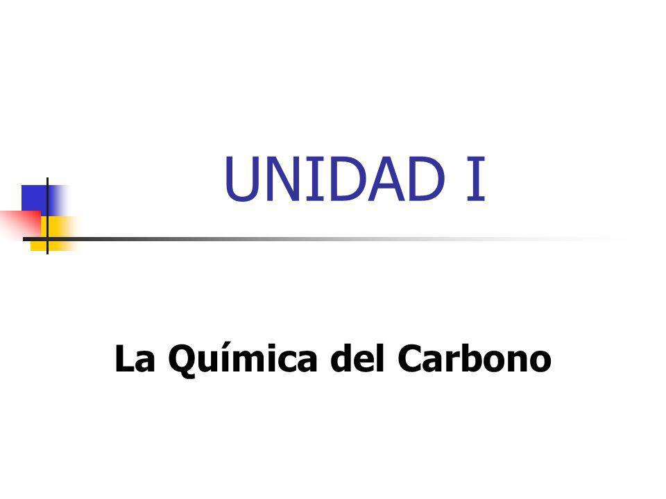 UNIDAD I La Química del Carbono
