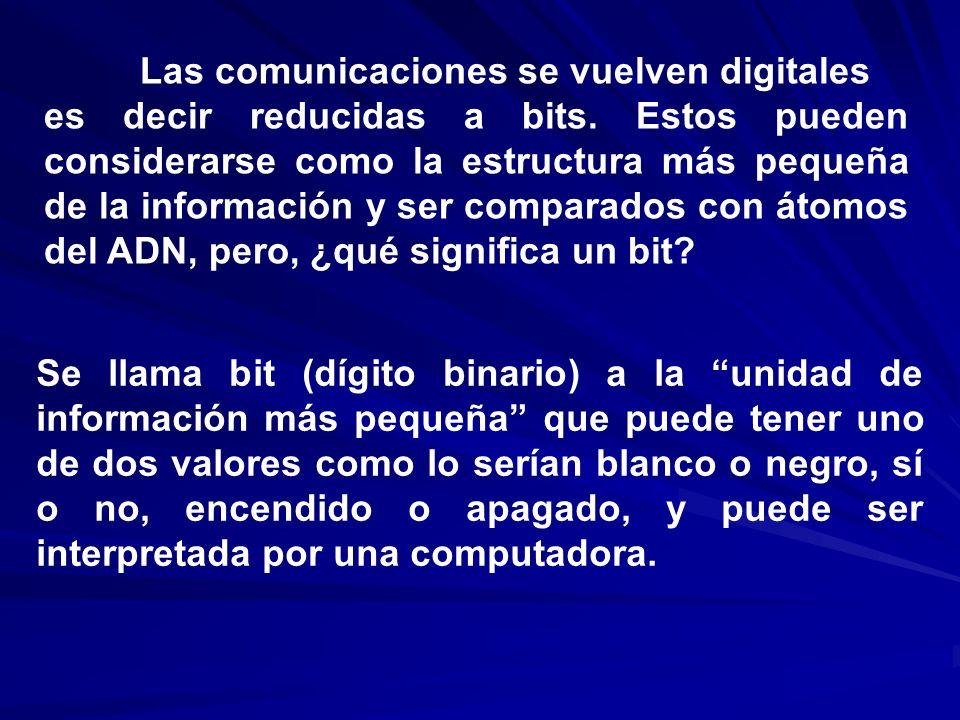 Las comunicaciones se vuelven digitales