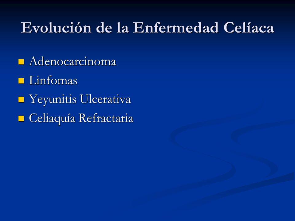 Evolución de la Enfermedad Celíaca