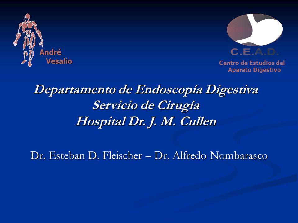 Departamento de Endoscopía Digestiva