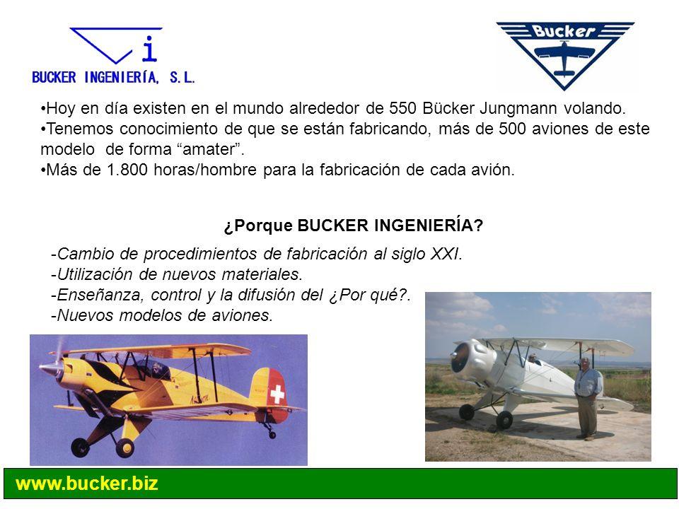 Hoy en día existen en el mundo alrededor de 550 Bücker Jungmann volando.