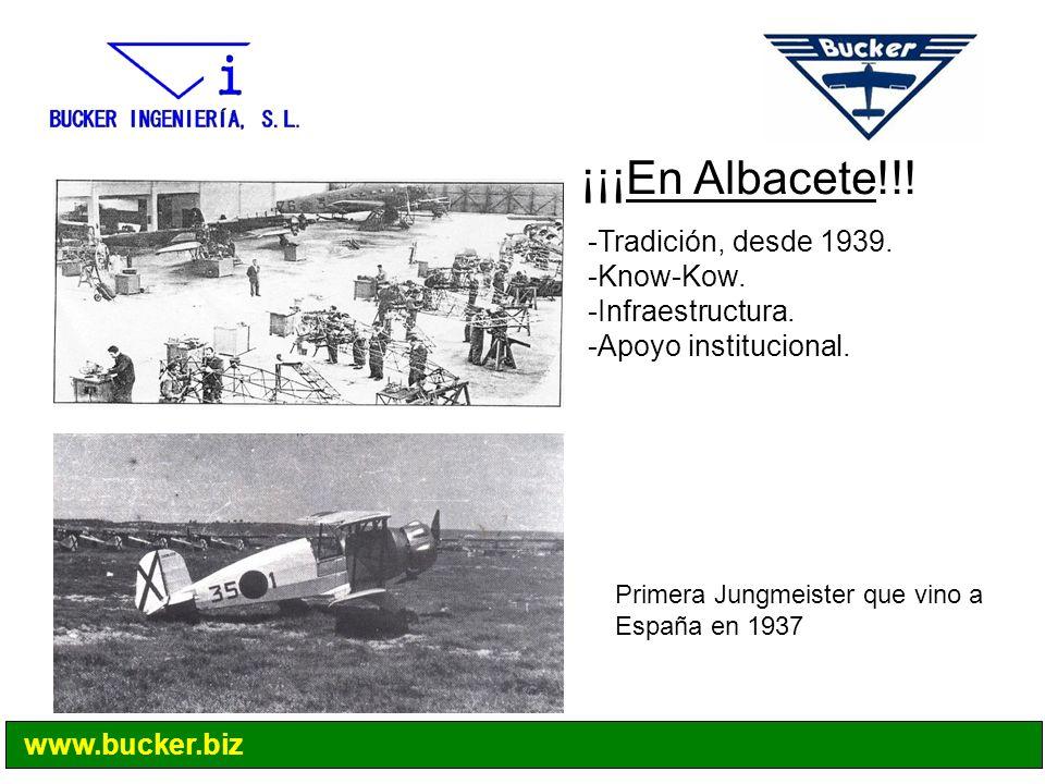 ¡¡¡En Albacete!!! Tradición, desde 1939. Know-Kow. Infraestructura.