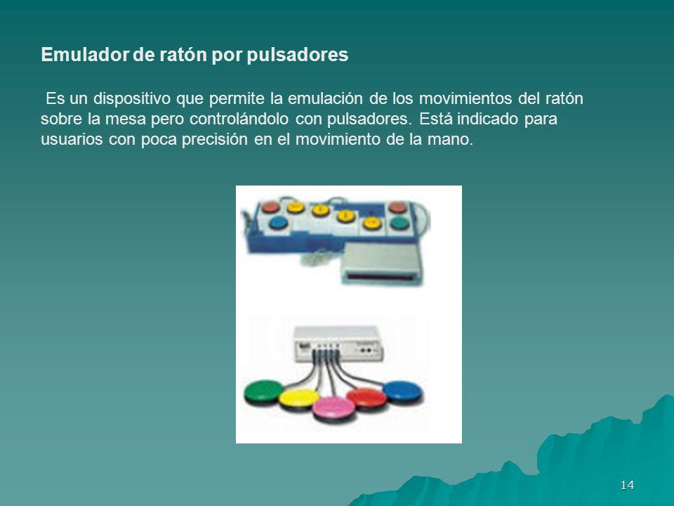 Emulador de ratón por pulsadores