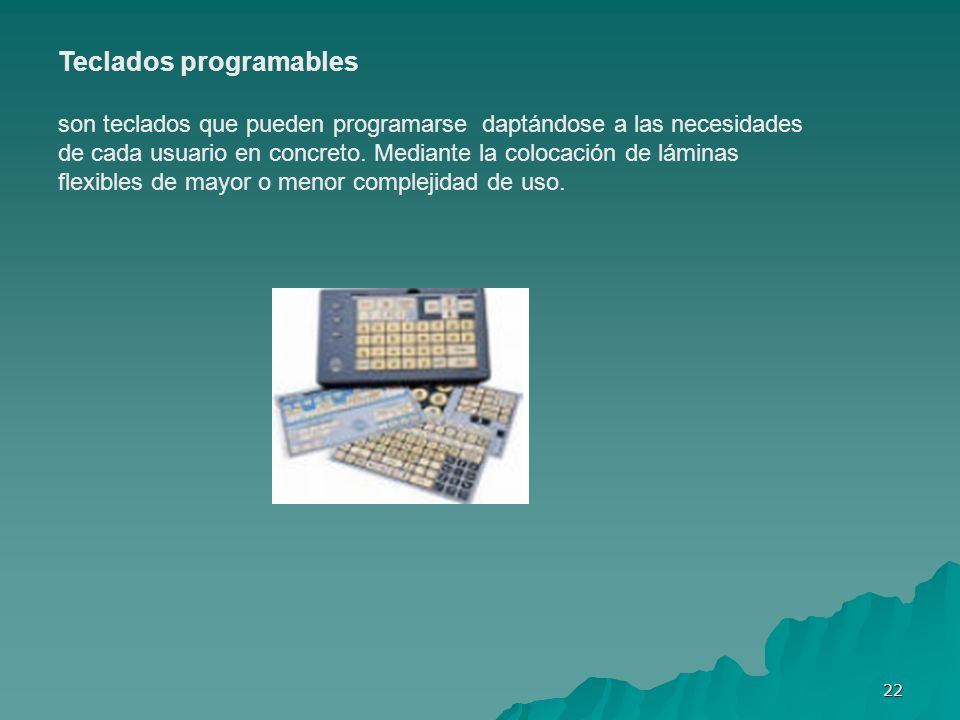 Teclados programables