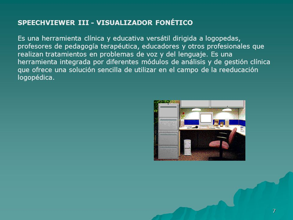 SPEECHVIEWER III - VISUALIZADOR FONÉTICO
