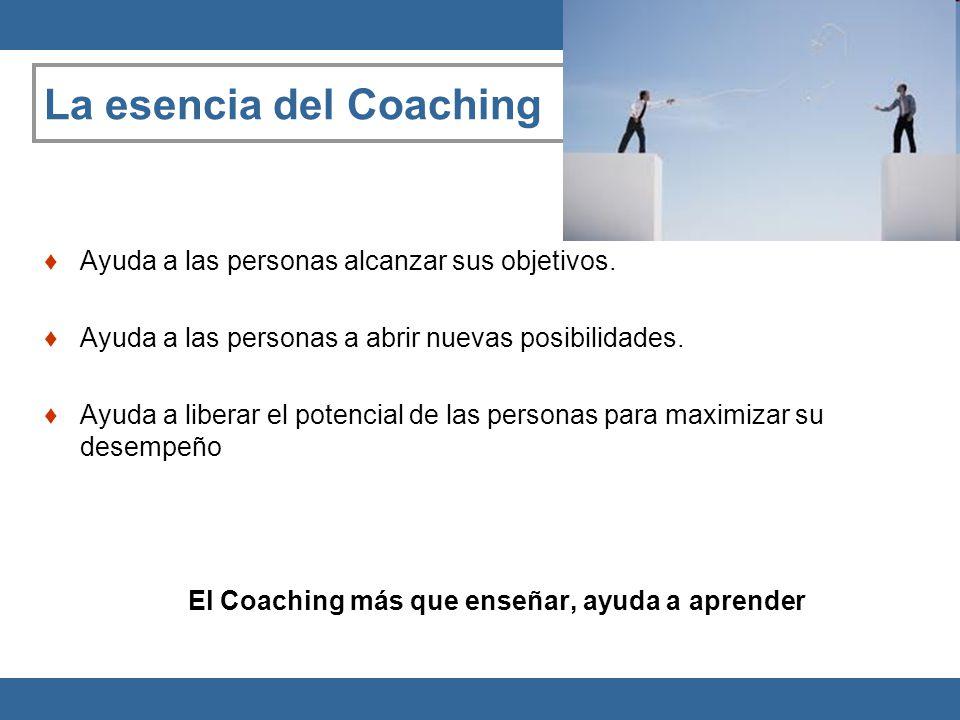 La esencia del Coaching