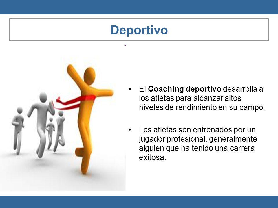 Deportivo El Coaching deportivo desarrolla a los atletas para alcanzar altos niveles de rendimiento en su campo.