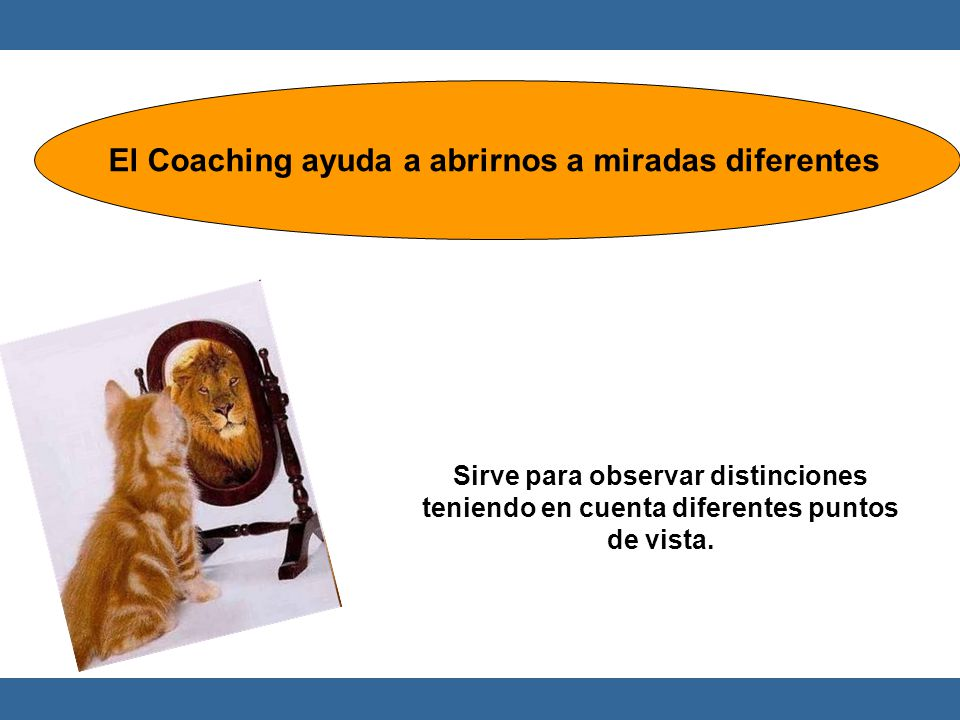 El Coaching ayuda a abrirnos a miradas diferentes