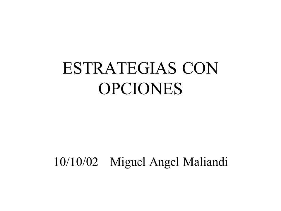 ESTRATEGIAS CON OPCIONES