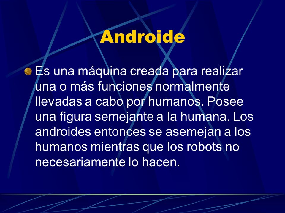 Androide