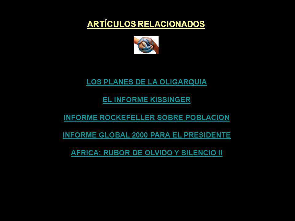 ARTÍCULOS RELACIONADOS AFRICA: RUBOR DE OLVIDO Y SILENCIO II