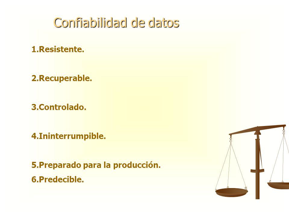 Confiabilidad de datos