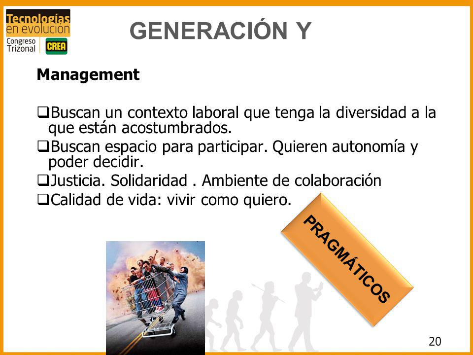 GENERACIÓN Y Management