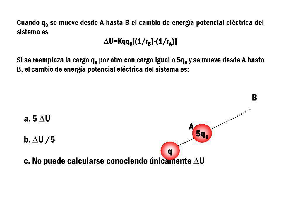 c. No puede calcularse conociendo únicamente DU B
