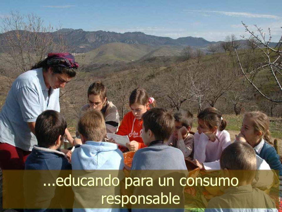 ...educando para un consumo responsable