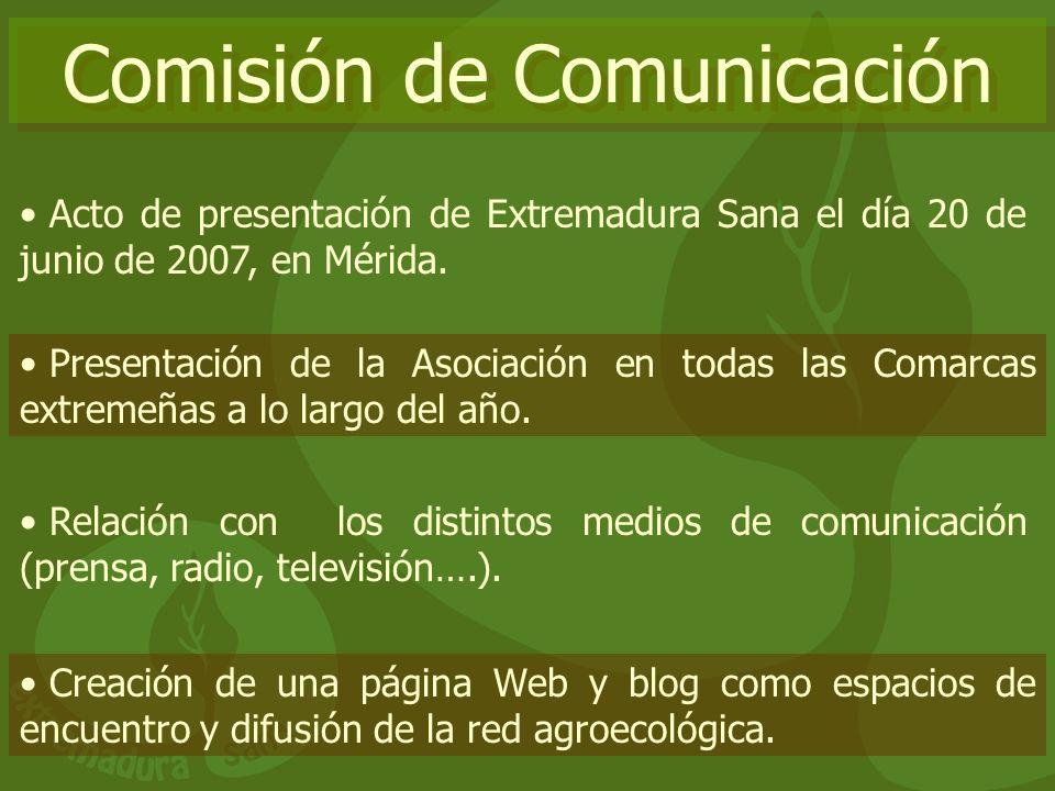 Comisión de Comunicación