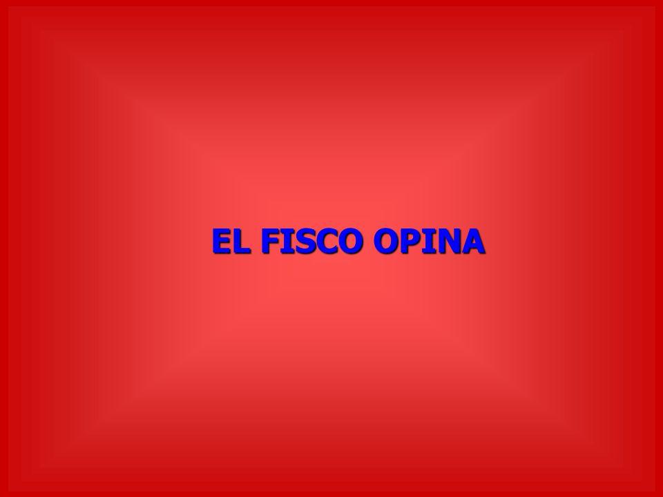 EL FISCO OPINA